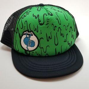 Youth Shaun White Throwback Trucker Hat Flat Brim